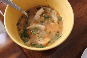 Caribbean Seafood Stew