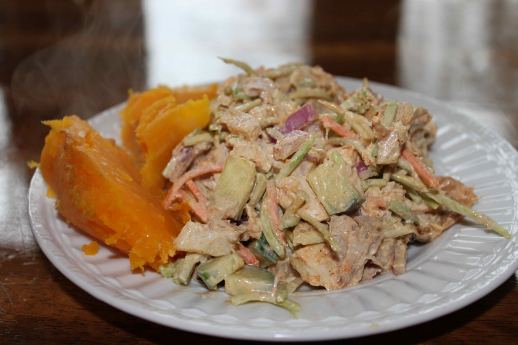 Chicken Jicama Slaw