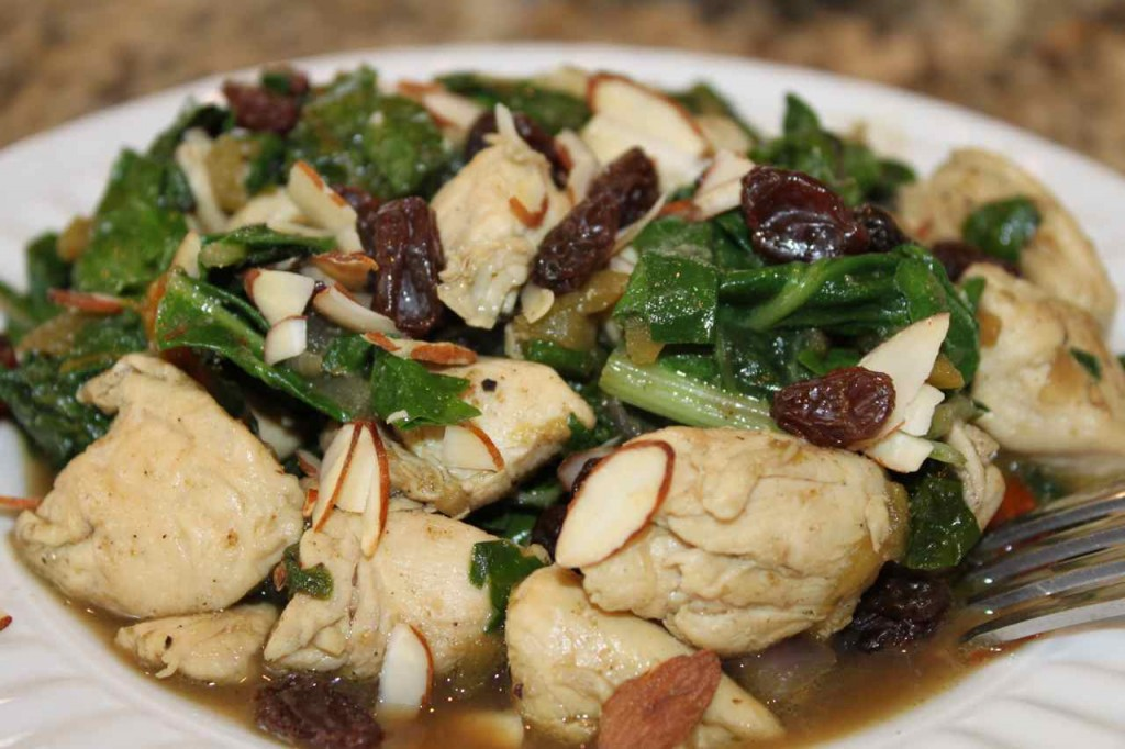 Chicken and Chard