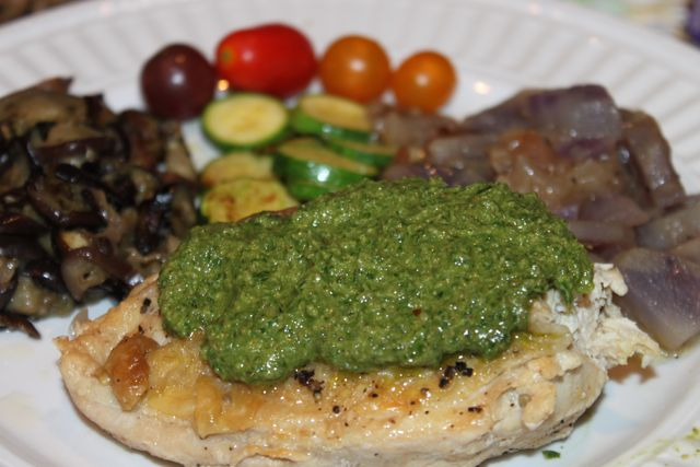 Easy Skillet Rosemary Chicken, Pecan Basil Parsley Pesto and more ...