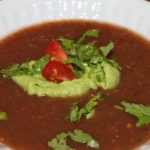 Everyday Paleo Gazpacho with Avocado Cream!