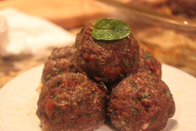 Yummy Greek Meatballs
