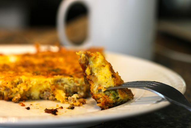 Easy and Delicious Sausage Frittata