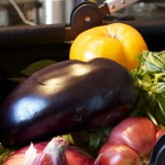 Roasted Eggplant Stacks