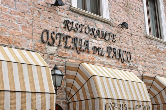Video Tour of Osteria Del Parco with Chef Samuele