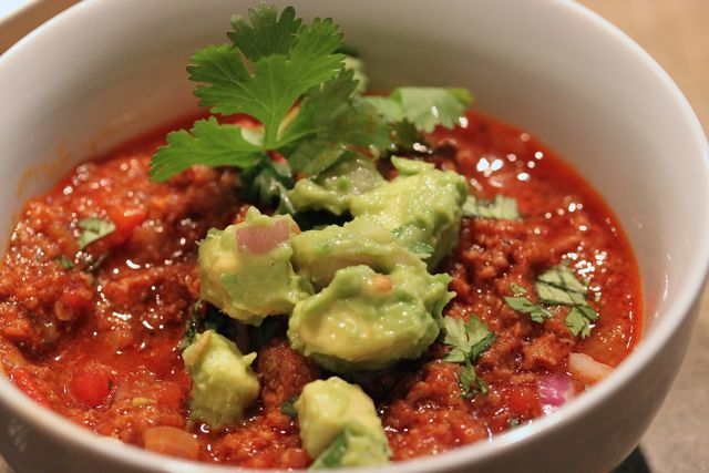 Rachel's All-American Meat Lovers Chili