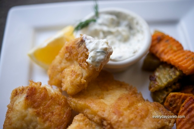 Beer Battered Fish-n-Chips and Brother Mark's Tartar Sauce
