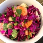 Cabbage Salad with Cumin & Lime Dressing